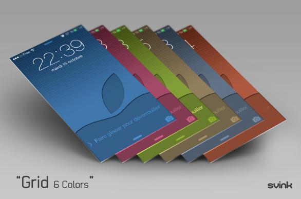 6 colors !